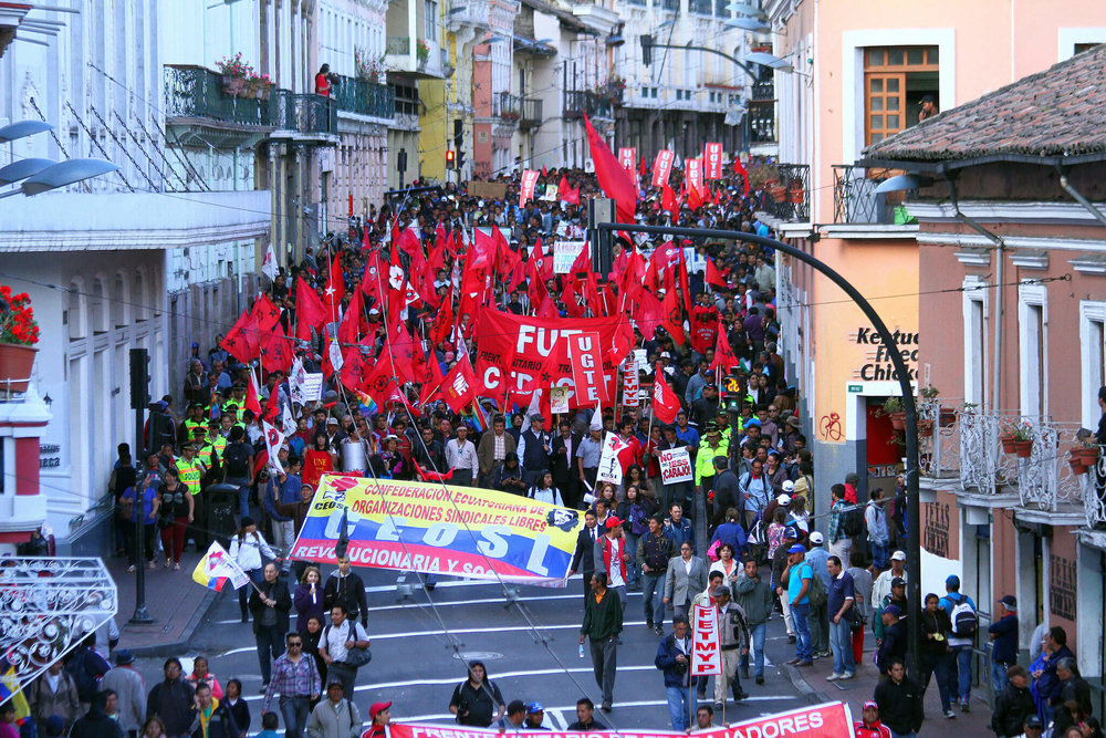 """""""Marcha 24 Jun"""" by    Carlos Rodriguez/Andes    is licensed under    CC By 4.0"""