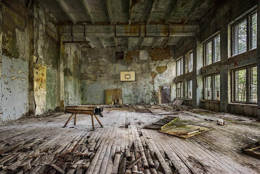 Gymnasium Pripyat Chernobyl