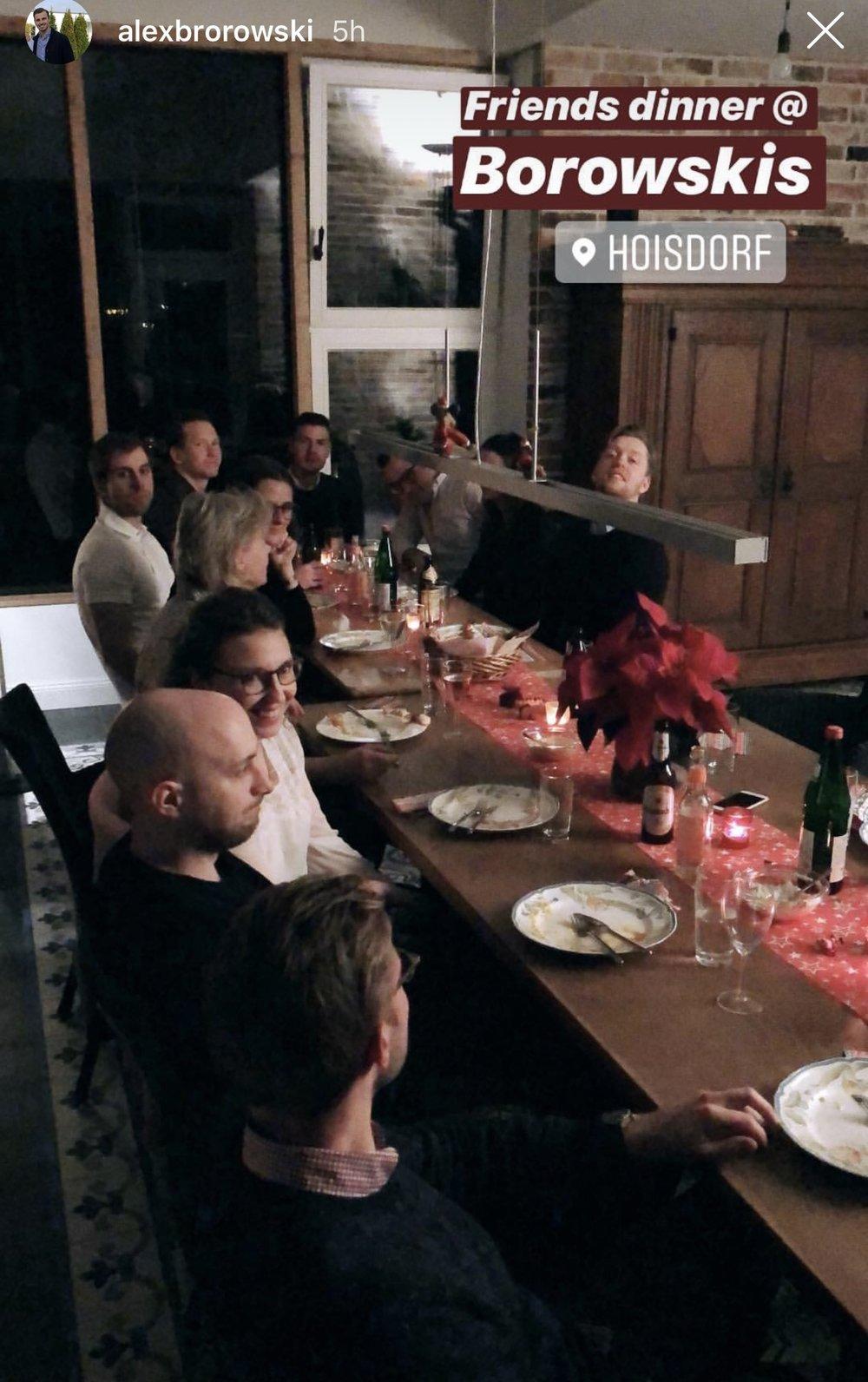 German Christmas Dinner