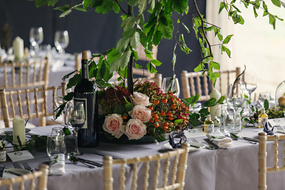 Louisa & sam - An autumnal wedding inspired by English hedgerows