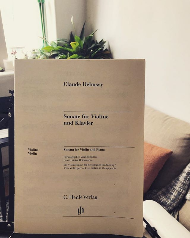 It's (almost always) a lovely day for Debussy! Our last concert of our 2018 season is next Wednesday, the 14th from 6-7pm. We're looking forward to coming back to @melbrecital for a sweet little program of #debussy #kurtag #turnage #sullivan and #skipworth. #newmusic #australianmusic #chambermusic #melbourne #australia