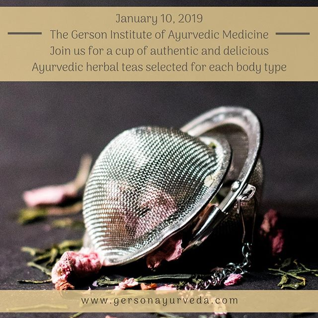 Let's start the New Year right! The evening includes free authentic and delicious Ayurvedic herbal teas for each body type, free Ayurvedic Questionnaire to accurately determine your personal Body Type, and 25% Discount Certificates for all Ayurvedic Spa Treatments, good thru February 28, 2019⠀ ⠀ https://buff.ly/2S1LZBJ⠀ ⠀ #2019 #event #ayurveda #ayurvedicmedicine #ayurvedicdoctor #herbs #herbal #hebaltea #tea #holistic #holistichealth #holistivemedicine #phd #giam #florida #orlando #integrativedoctor #physician #md #newyear