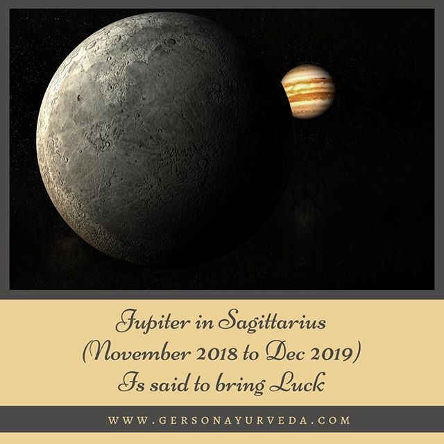 """""""As we are about to enter 2019, I thought I'd welcome you with a short message. According to Jyotish, the system of Vedic astrology, 2018 was a difficult year—all about surrender and healing the past so we can be more of who we truly are. According to my interpretation of Jyotish, 2019 will clearly bring expansion, opportunity, and self-awareness. The year will not be without its challenges, but in general, it should be a pretty electrifying year of broadening horizons and re-invention.""""⠀ ⠀ Click Here to Continue Reading: https://buff.ly/2SRY6Bj⠀ ⠀ #ayurveda #ayurvedicspa #ayruvedicmedicine #ayurvedicdoctor #astrology #vedicastrology #2019 #newyear #newyearseve #jupiter #Sagittarius #luck #goodluck #lucky #herbs #spices #holiday #blog"""