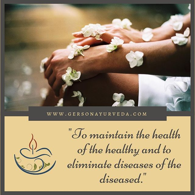 """New Blog Post! A Concise Bulletin Point Introduction to Ayurvedic Medicine by Scott Gerson⠀ ⠀ """"Ayurveda defines health not only in terms of balanced physiology of the physical body, but also as a state of harmony and contentment in every aspect of life. Thus, not only is it a medical approach to health, but Ayurveda can also be the foundation for the spiritual evolution of humankind.""""⠀ ⠀ To Read the Post in its entirety please visit: https://buff.ly/2VjOvFw⠀ ⠀ #ayurveda #blog #ayurvedicmedicine #ayurvedicdoctor #medicine #integrativemedicine #phd #ayurvedicspa #panchakarma #giam #health #wellness #humanity #evolution"""