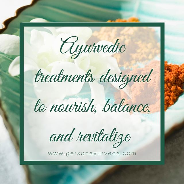 We are proud to offer an extensive selection of the highest quality authentic Ayurvedic spas treatments at The Gerson Institute of Ayurvedic Medicine's Day Spa. These Ayurvedic treatments are designed to nourish, balance, and revitalize you at the deepest level. ⠀ ⠀ To browse the GIAM  Spa Menu Please Visit: https://buff.ly/2q0I63s⠀ ⠀ #ayurveda #ayurvedicmedicine #aryurvedicdoctor #ayurvedicspa #massage #massagetherapy #Abhyanga #thirdeye #steamtreatment #sauna #facial #herbs #panchakarma #saltscrub #exfoliate #glycolicacid #detox #relax #rejuvenate