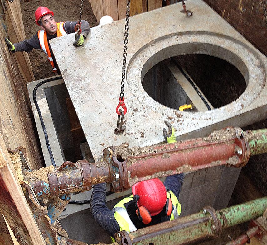 Réseaux souterrain des ordures ménagère de Vitry sur Seine