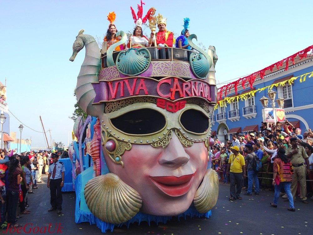 Viva Carnaval Goa Carnival Float Celebration