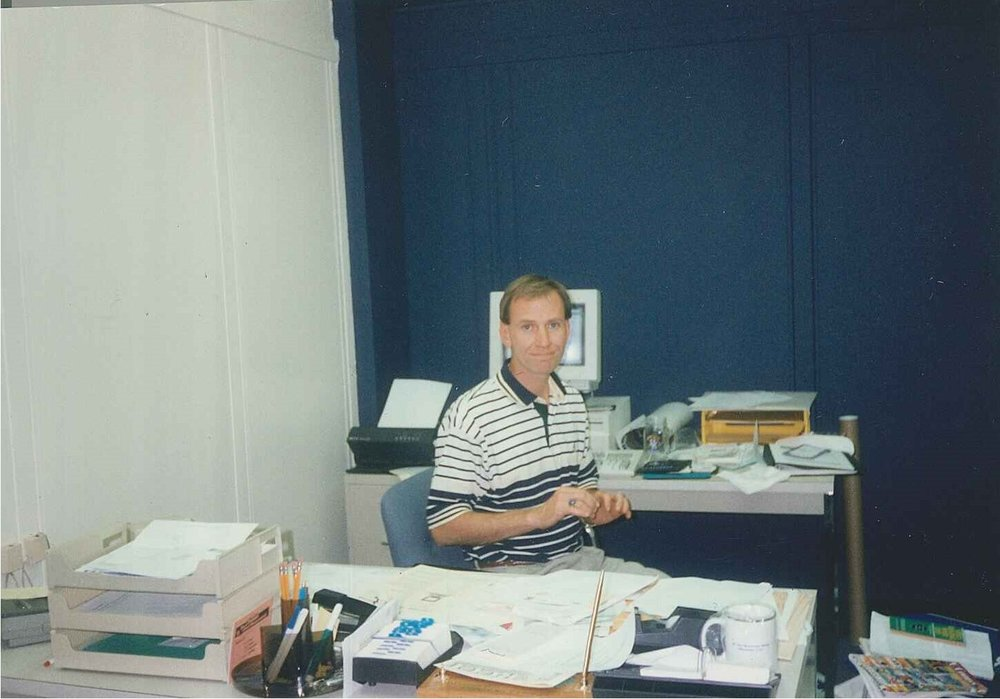 1997-01-00-01 Tom-first challenger office.jpg
