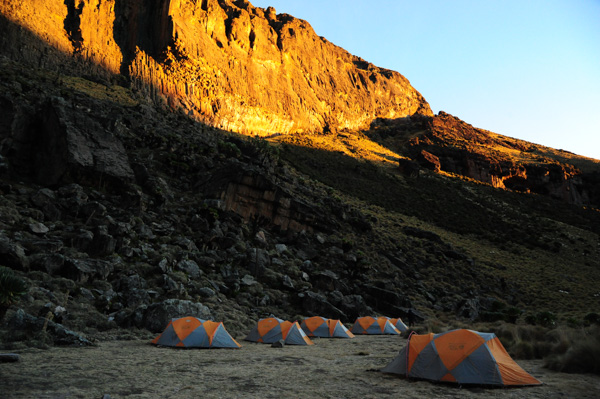 Mt Kenya. Michaelson Camp