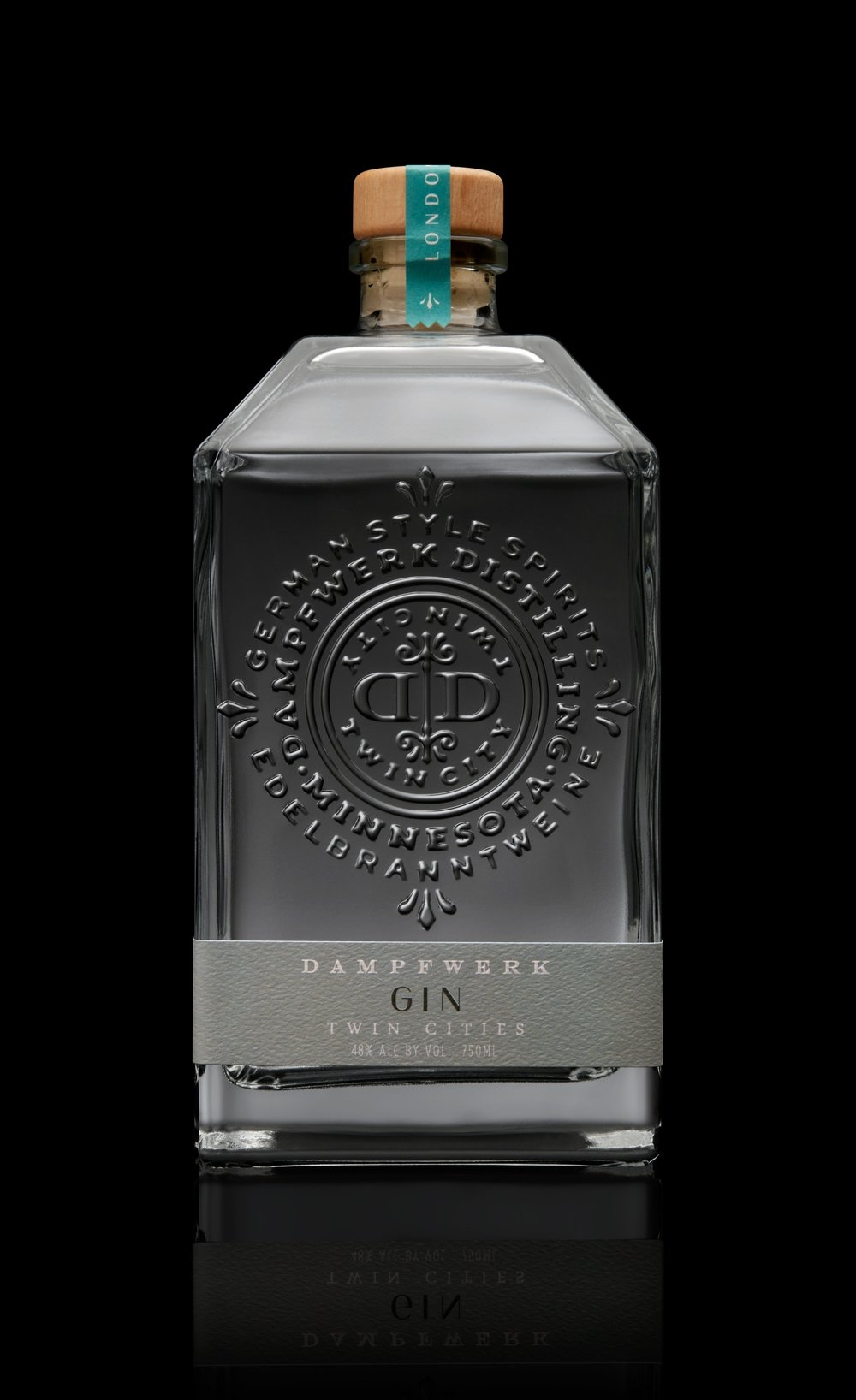 LONDON DRY GIN   A fresh, Minnesotan take on the classical juniper botanical blend, perfect for a Gin & Tonic.