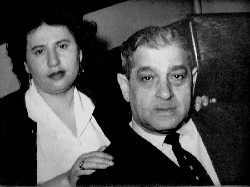 My grandfather, Max Scheindel (the actor/director who inspired me) with my mother