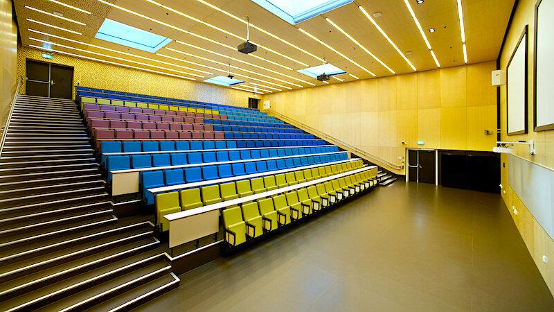 Auditorium, 2014 Chairs  Comission Amalie Skram videregående skole, Bergen