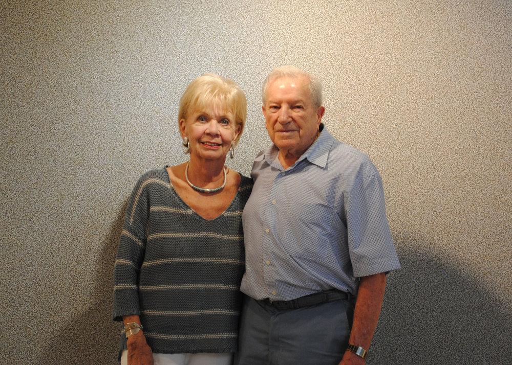 Sam and Sally Shapiro 2012.jpg