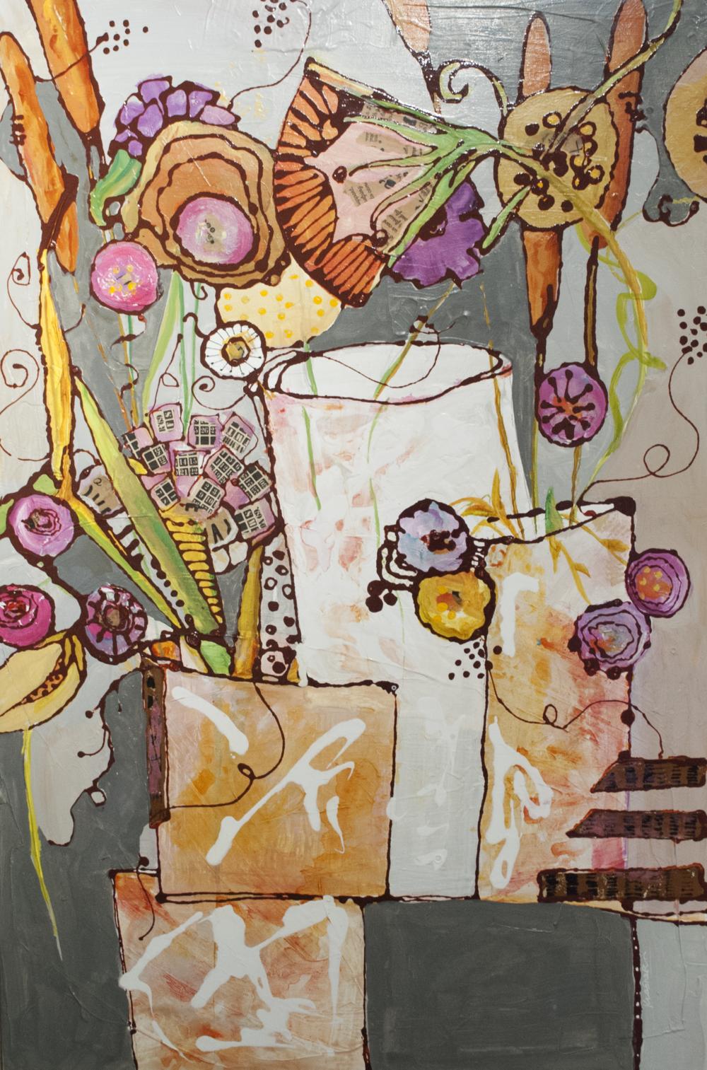 MERIT: WILD FLOWERS BY JILL KRASNER
