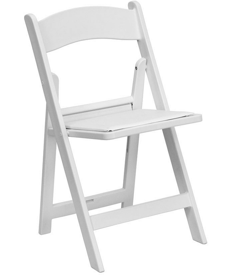 White wedding folding chair.PNG