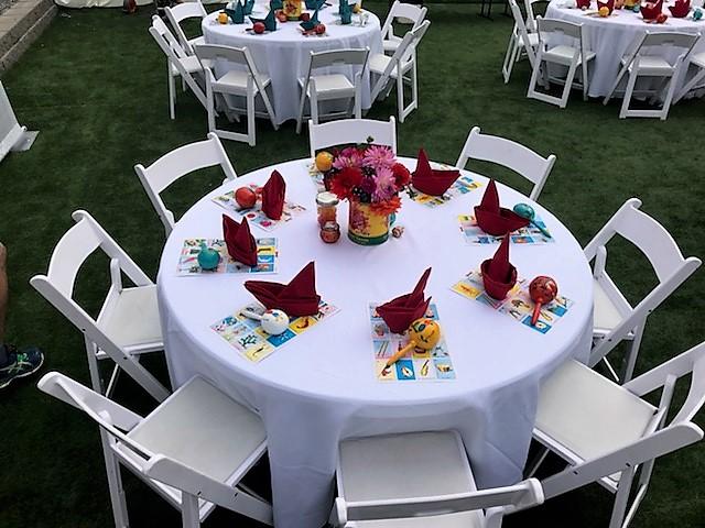 Banquet Settings -