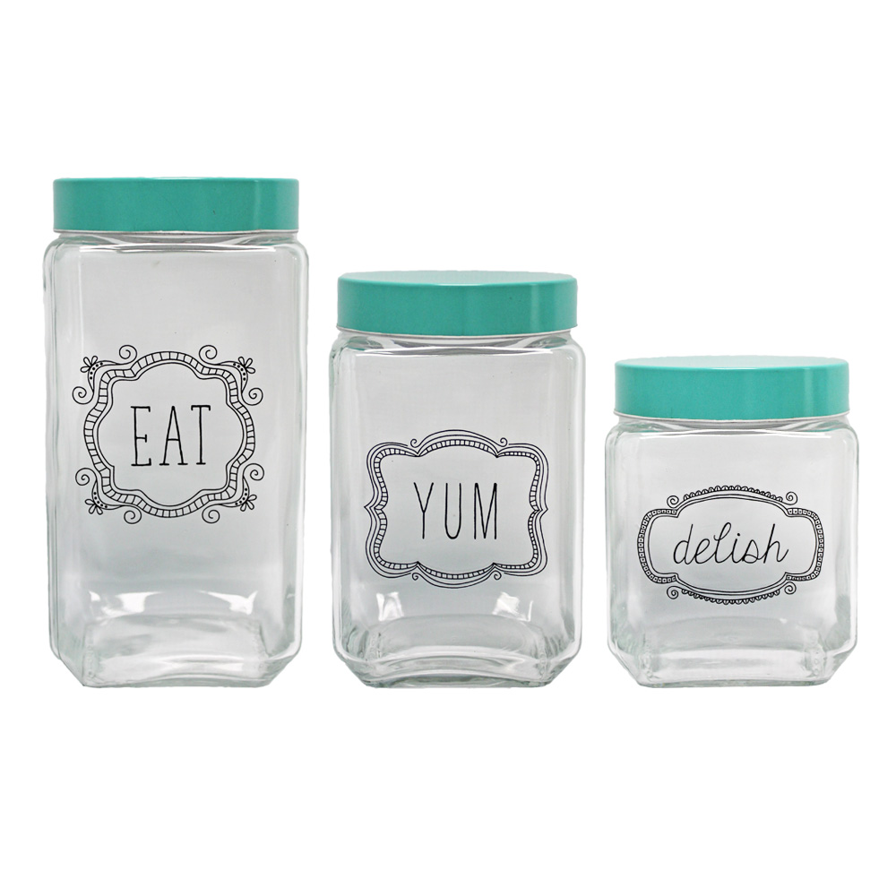 Glass Canisters -