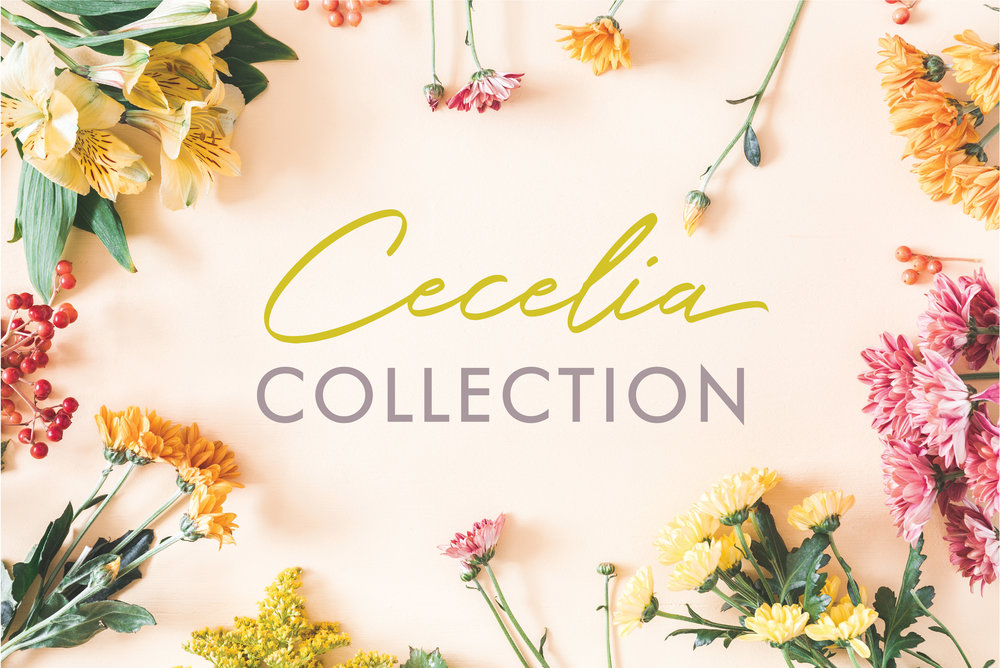 The Cecelia Collection is classy and chic