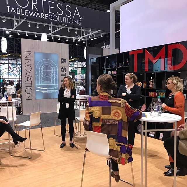 If you're @housewaresshow be sure to checkout all the new collections at TMD S1264  for all the latest in #specialtybeverage #hydration #glassware #tabletop #gifting #ceramics