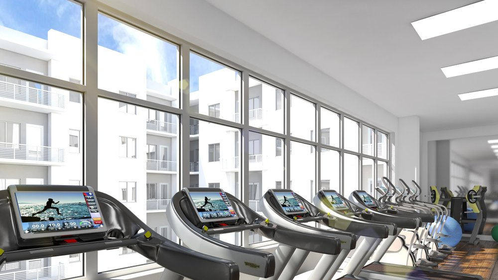Aloft Workout Facility