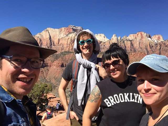 Had a great time exploring @zionnps with this crew. ❤️ y'all!