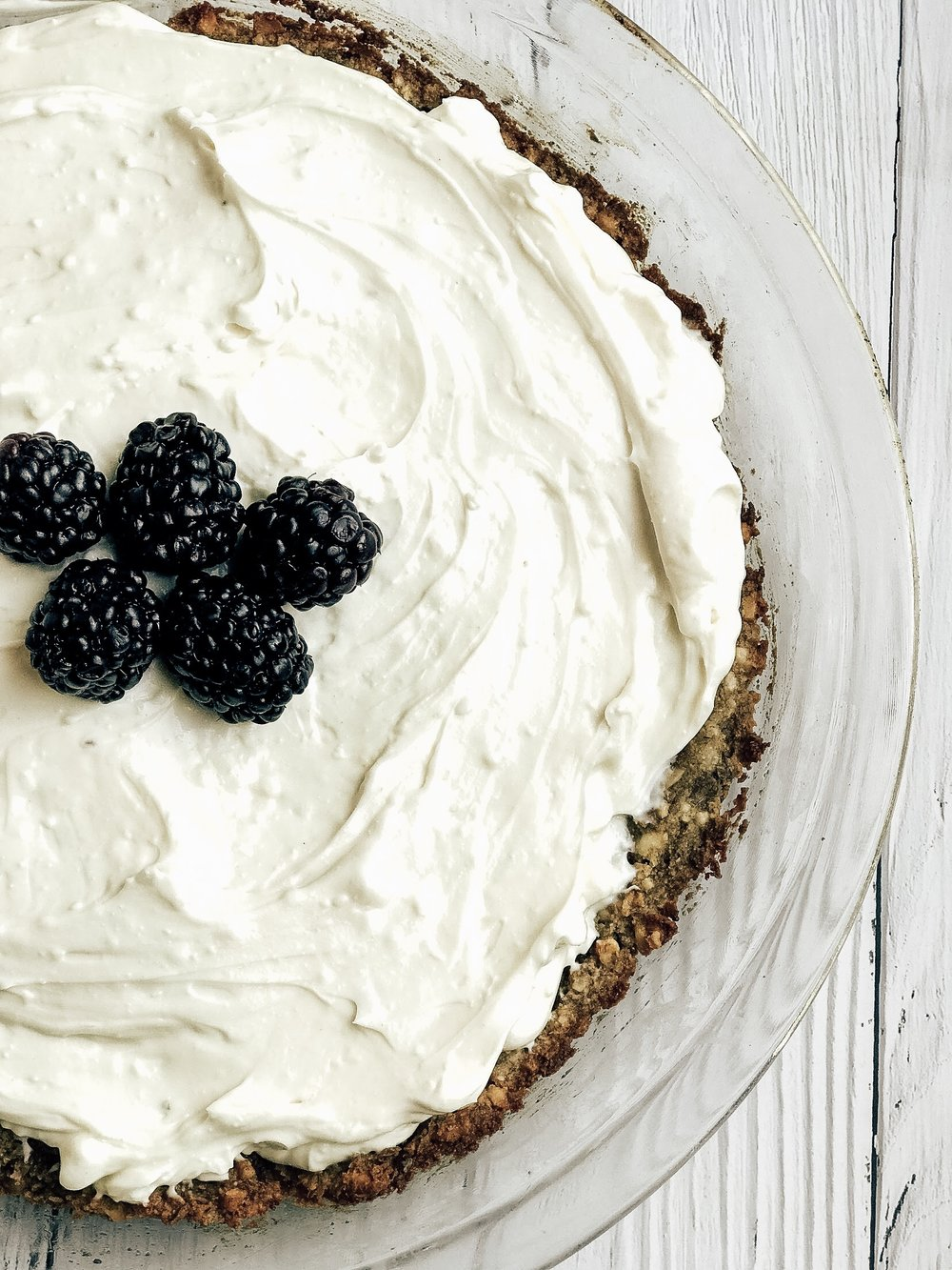 Gluten Free Healthy Berry Tart