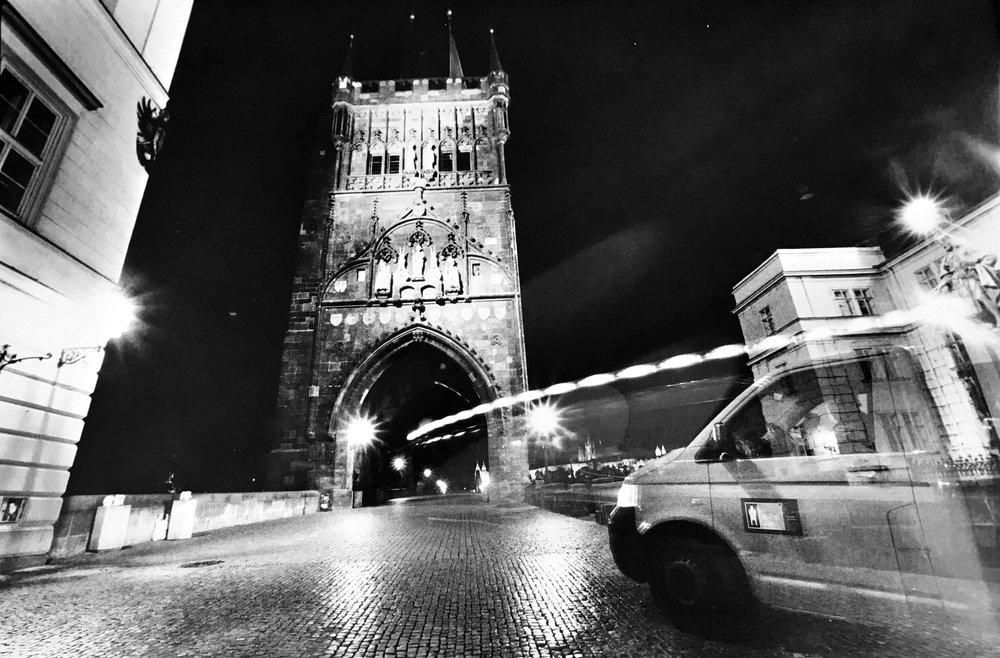 Prague Night I (taxi), 2007