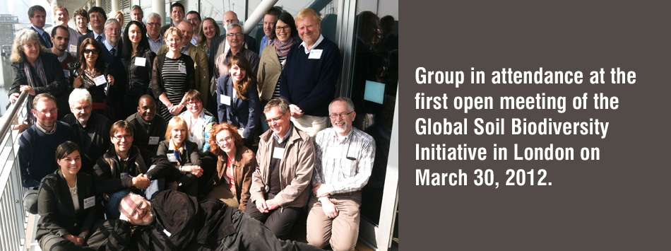 GSBI members at the first open meeting in London.