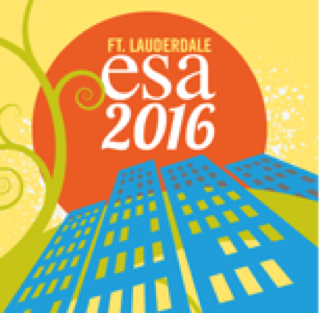 Ecological Society of America - 7-12 August, 2016