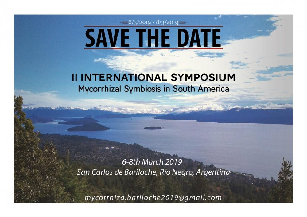 Our next meeting will be hosted in Bariloche, Argentina, in March 2019.
