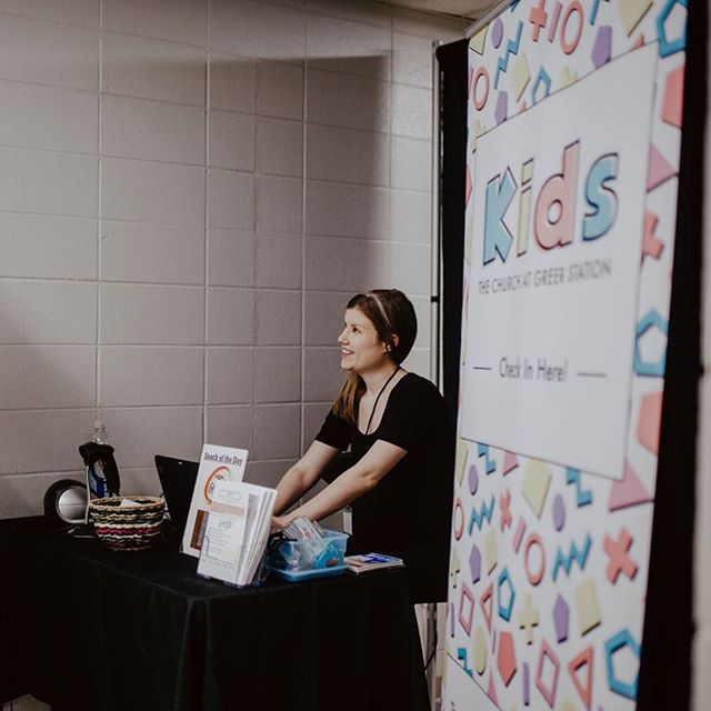 This is Cassie. She's one of our TCGS kids coaches. She volunteers a good deal of her time and serves our church diligently. We're so thankful for folks like her! #hereingreer #tcgsisordinary