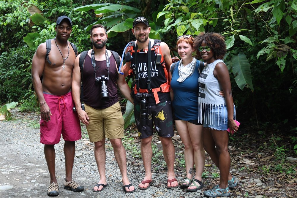 We met these three amazing people from Alaska, in Costa Rica on a National Park Tour