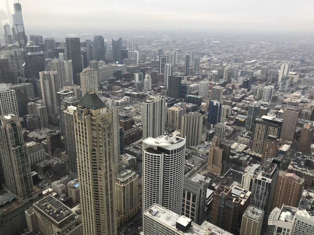 downtown chicago -