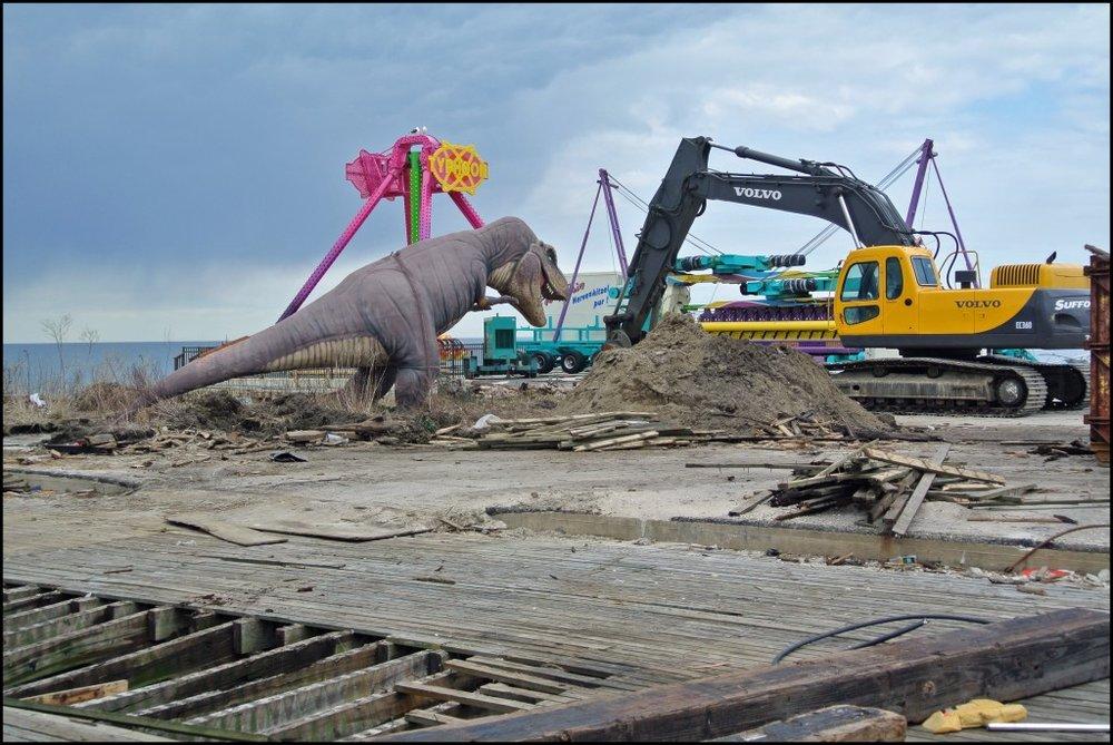 """Rhoda Sidney Dinosaur Survivor, 2013 8 x 10"""" color photograph"""