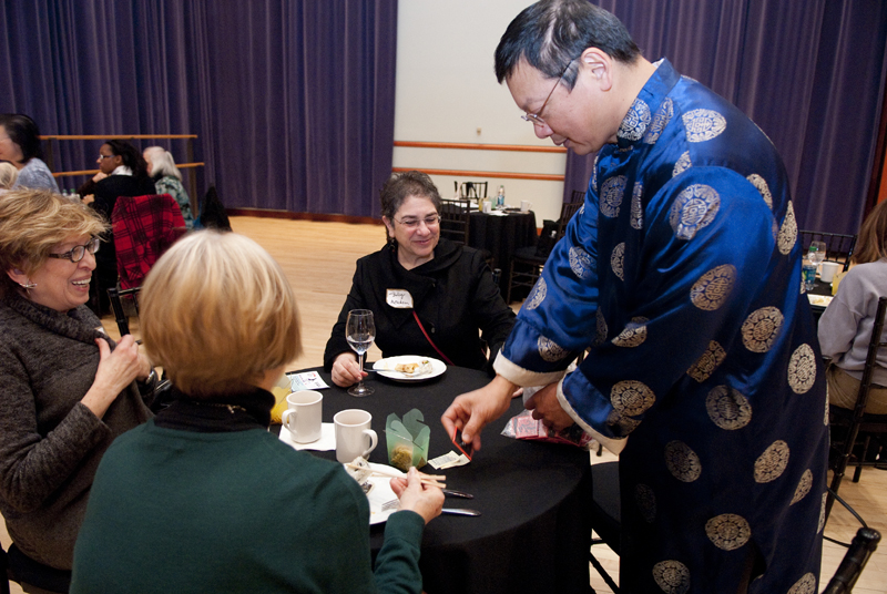 Na-Ni Chen Member Party on 1/25
