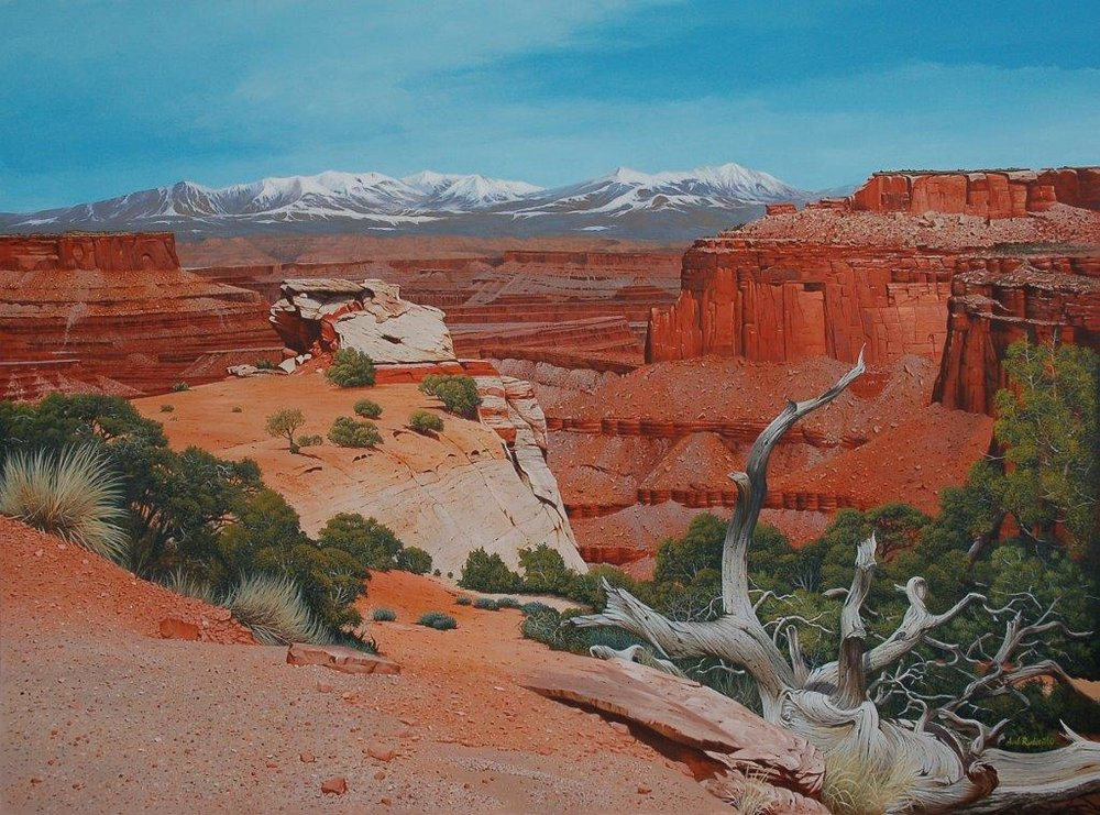 Shafer Canyon Overlook Canyonlands Nat.Pk. UT
