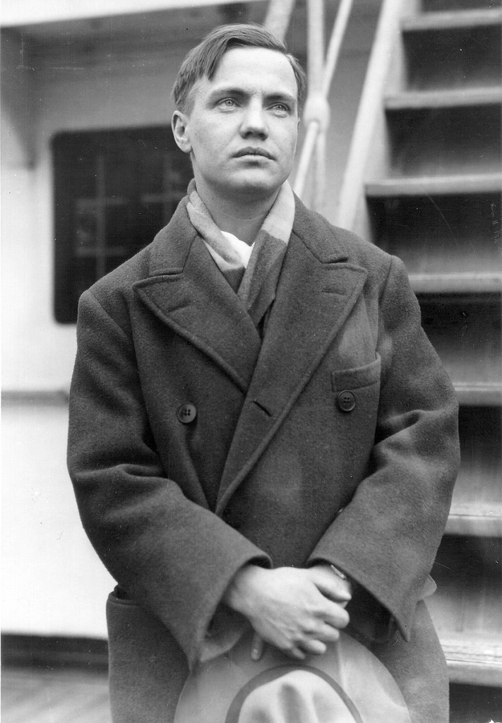 George Antheil, New York, 1927, from the estate of George Antheil