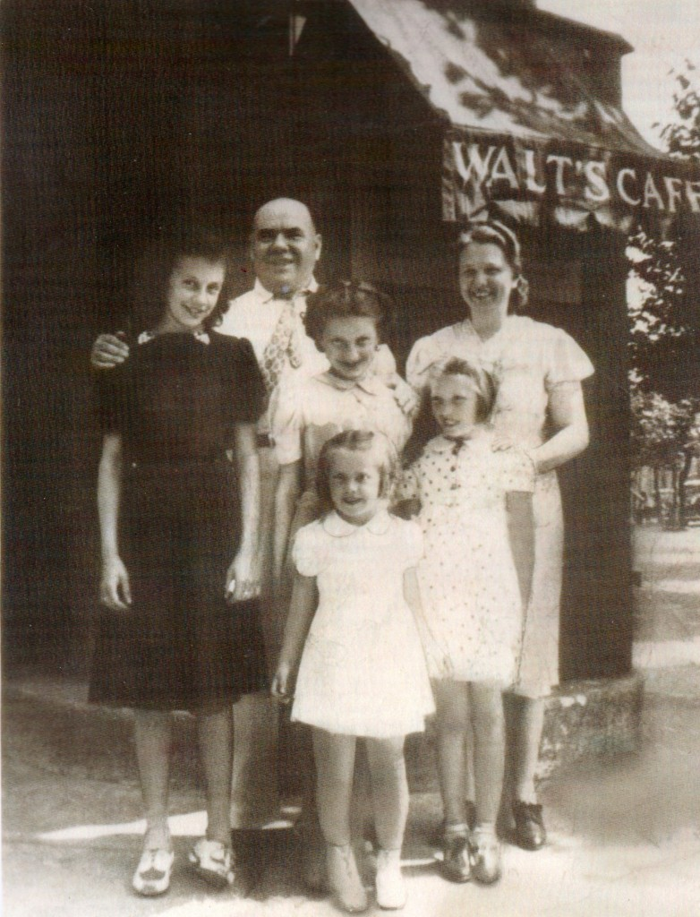 Walt's Cafe - 1939 corner 4th & Jasper Camen New Jersey - Now Home of Waterfront South Theatre South Camden Theatre Co