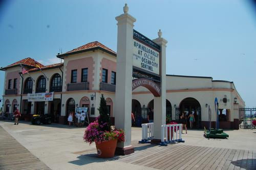 Ocean City Music Pier front