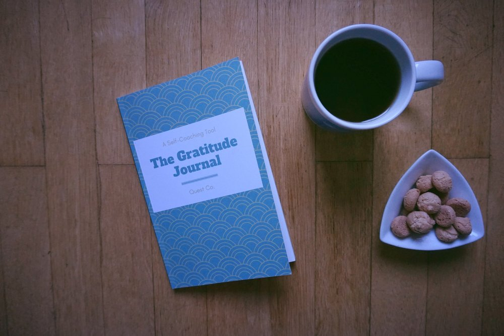 The Gratitude Journal - The perfect tool to adopt a positive mindset