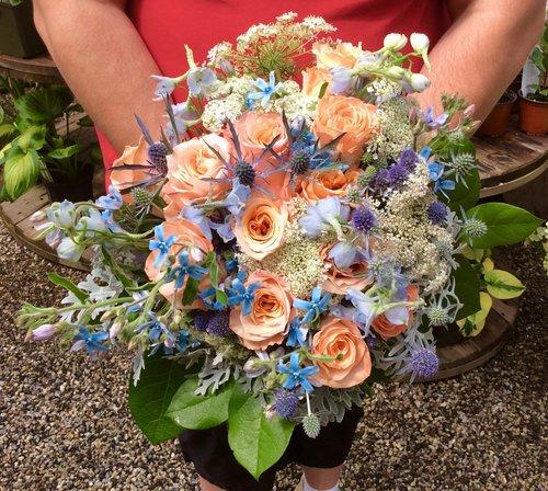 Flora's Muse, Wedding Flowers, Maine.