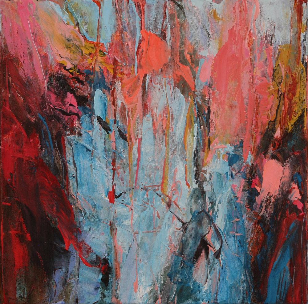 November Wood 2016 16'' x 16'' oil on canvas