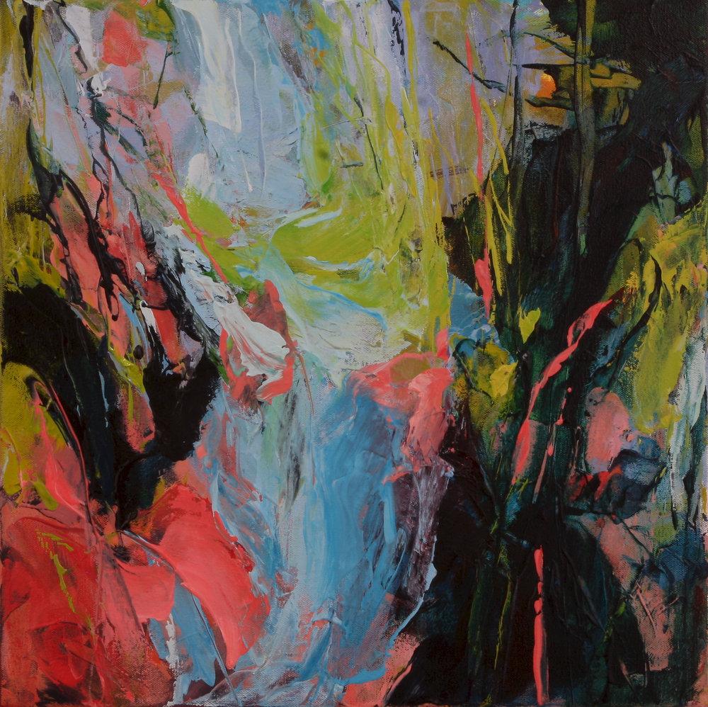 Wild Wood 2016 16'' x 16'' oil on canvas