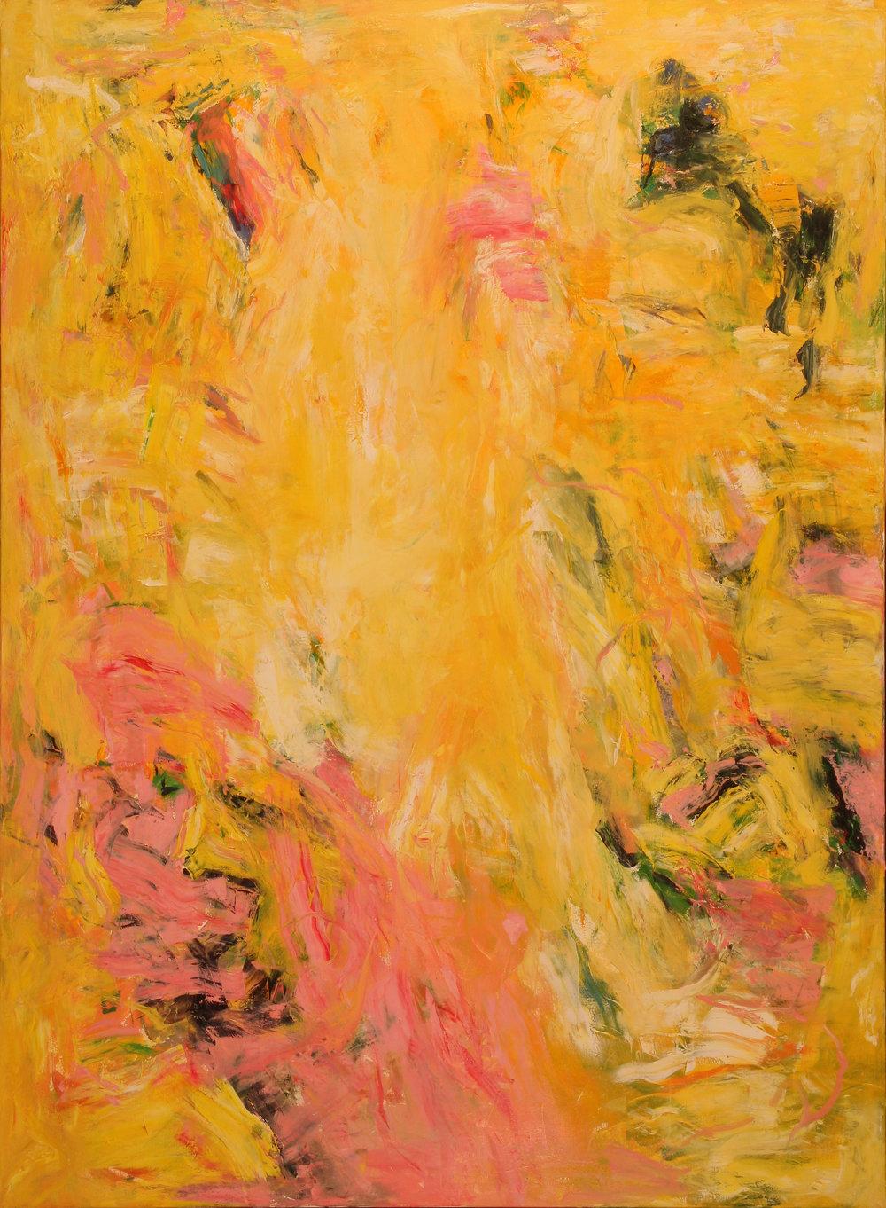 Puesta de Sol 2015 60'' x 44'' oil on canvas
