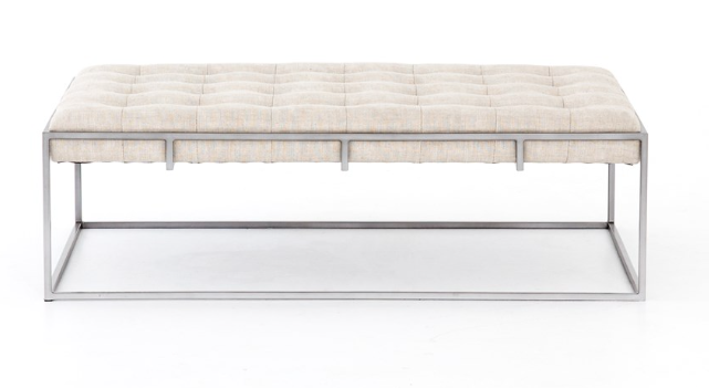 Oxford tufted coffee table $1598.