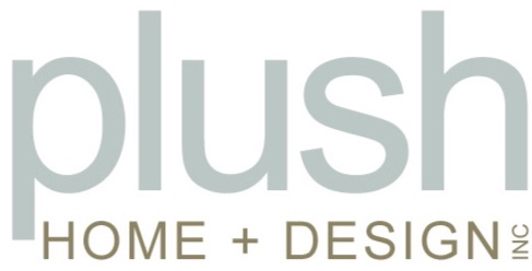 plush home + design logo