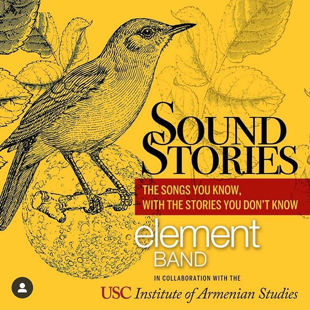 Join us tomorrow at noon in the Bovard Auditorium at USC for a very special show in collaboration with the USC Institute of Armenian Studies.