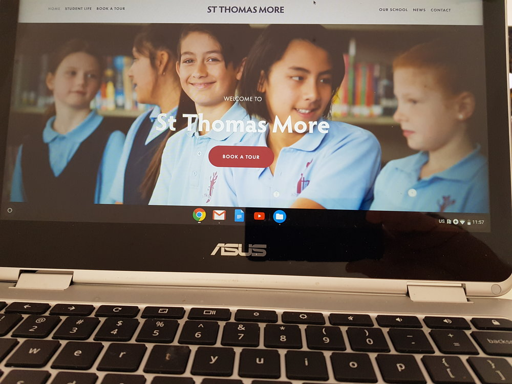 Front Page Website