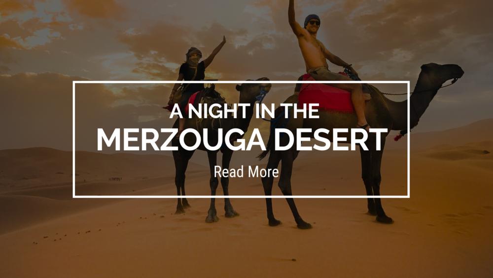 A Night in the Merzouga