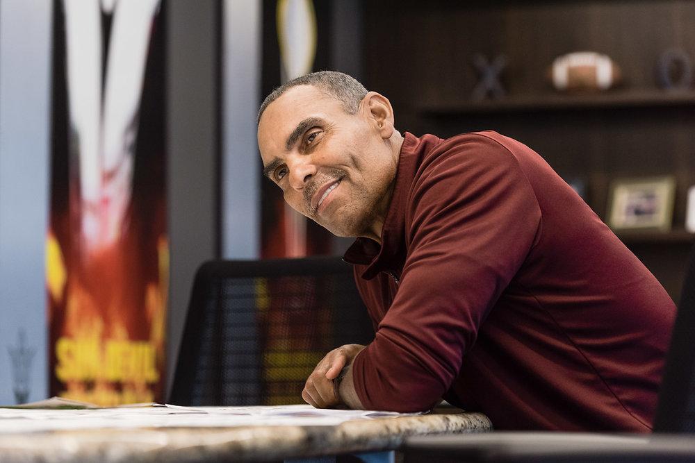 Arizona State Universtiy Head Football Coach Herm Edwards